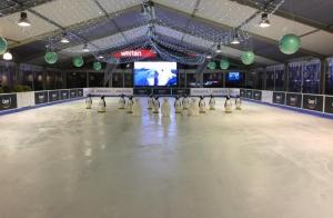 1 o 2 entradas de 1h en Pista de Hielo Marineda City con patines incluidos