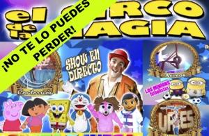 Entradas El circo de la magia en Santiago