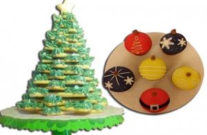 Caja de 6 cupcakes o árbol de galletas