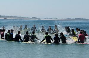 Bautismo de surf o bodyboard para 2 o 4 personas