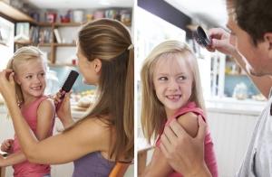 Curso de peinado para papás y mamás.