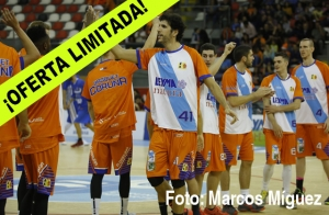 Abono partido Leyma Coruña - CB Prat