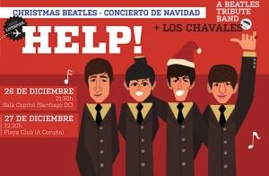 Entradas HELP! A Beatles Tribute Band +Los Chavales en Santiago