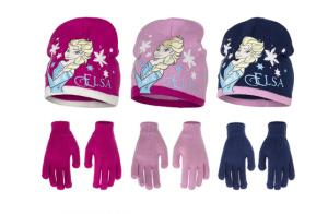 Disney Frozen, gorro + guantes