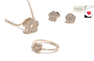 Conjunto Rose Gold con Swarovski Elements