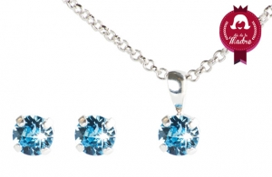 Set destellos made with SWAROVSKI ® ELEMENTS.