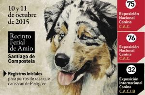 Entradas 75 expos. nacional canina CAC, 76 expos. nacional canina y la 32 expos.internacional canina