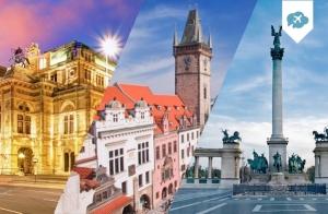 Viaja 8 días por Praga, Viena y Budapest