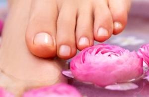Pedicura completa con peeling y masaje