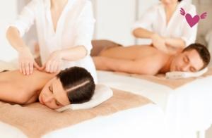 Masaje de espalda y parafango para 2 personas. Experiencia única y relajante en Termaria