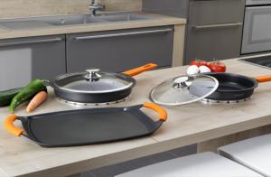 Set de cocina aluminio fundido 7 piezas Newcook