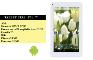 Tablet ITAL T71 7